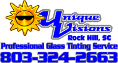 Unique Visions Custom Glass Tinting